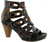 Riva Suma Leather Caged Womens Sandals