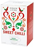 Higher Living Organic Sweet Chilli 15 Teabags (Pack of 6, Total 90 Teabags)