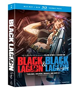 Black Lagoon Complete Set - Season 1 2 Blu-raydvd Combo from Funimation