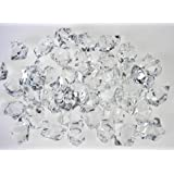 Translucent Clear Acrylic Ice Rocks for Vase Fillers or Table Scatters