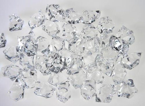 Generic Translucent Clear Acrylic Ice Rocks for Vase Fillers or Table Scatters (Ice Rock Gems compare prices)