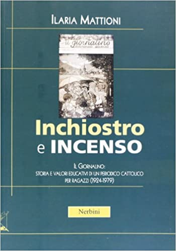 Ilaria Mattioni, Inchiostro e incenso (ed. Nerbini)