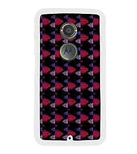Colourful Pattern 2D Hard Polycarbonate Designer Back Case Cover for Motorola Moto X2 :: Motorola Moto X (2nd Gen) :: Motorola Moto X 2014 :: Motorola Moto X+1