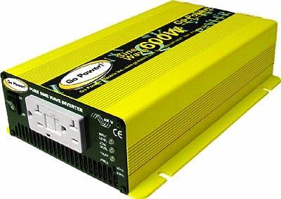 Go Power! GP-SW600-24 600W Pure Sine Wave Inverter, 24V