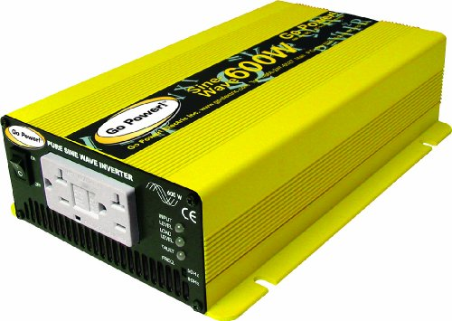 600watt Pure Sine Wave Inverter by Go Power