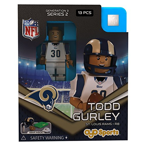 Todd Gurley NFL OYO St. Louis Rams Generation 3 Series 2 G3 Mini Figure