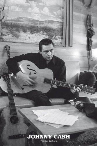 Johnny Cash Poster - Poster grande dimensioni