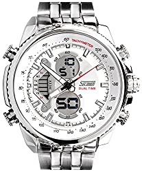 Skmei Calendar Analog - Digital Multi Color Dial Mens Watch - (HMWA05S024C0)