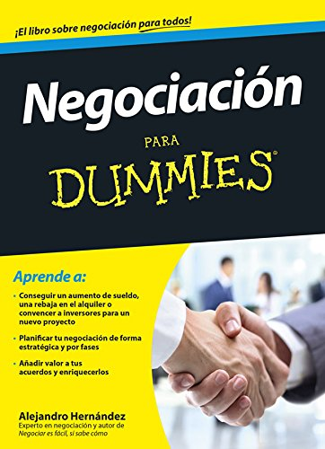 NEGOCIACION PARA DUMMIES descarga pdf epub mobi fb2