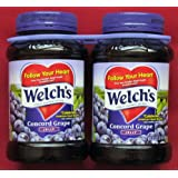 Welch's Concord Grape Jelly 2 ~ 32oz Jars