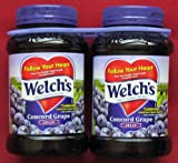 Welchs Concord Grape Jelly 2 ~ 32oz Jars