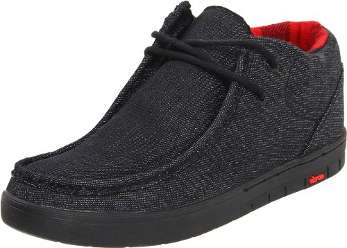 IPATH Men's Cat (Vibram),Black Denim/Black,14 D (M) US