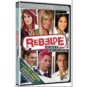 videos de rebelde tercera temporada: