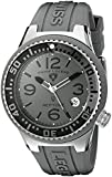 Swiss Legend Women's 11044P-014-GRYB Neptune Grey Dial Grey Silicone Watch