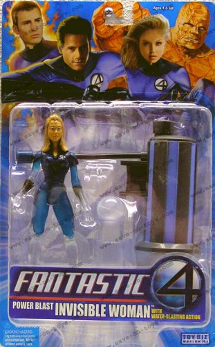 "Fantastic 4 Series III 6"" Figure: Invisible Woman with Water"