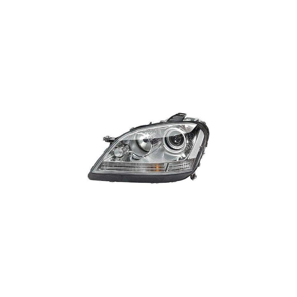 DRIVER SIDE HEADLIGHT Mercedes Benz ML320, Mercedes Benz ML350, Mercedes Benz ML550, Mercedes Benz ML63 AMG HID TYPE HEAD LIGHT ASSEMBLY; INCLUDES BALLAST; FOR USE WITHOUT SPECIAL EDITION