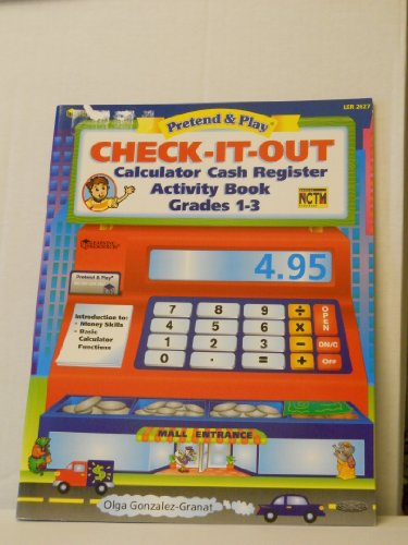 Image for Check-it-out: Calculator cash register activity book grades 1-3 (Pretend & play)