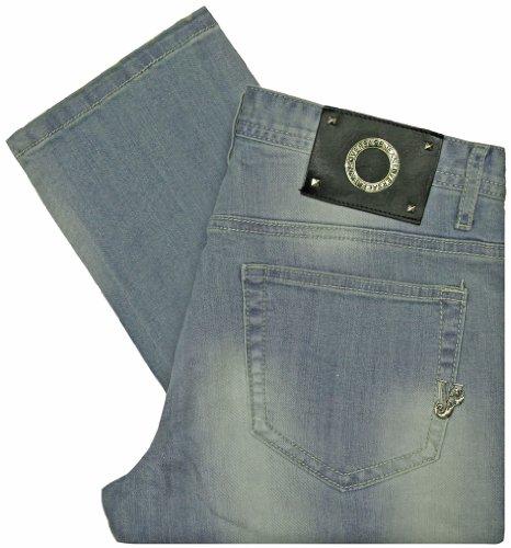 Versace Jeans Men's Slim Fit Light Wash Jeans (42)