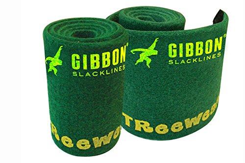 Gibbon - Wear, Protezione per alberi, 2 * 100 cm * 14,5 cm, colore: Verde