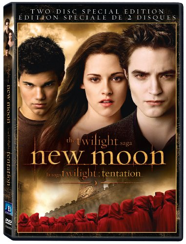 Sale alerts for eOne Films Twilight Saga: New Moon / La saga Twilight: Tentation  (2-Disc Special Edition) (Bilingual) - Covvet