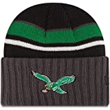 Philadelphia Eagles New Era NFL Throwback Prep Class Cuffed Knit Hat