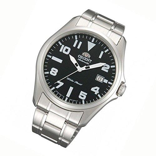Orient Da uomo 41mm Bracciale in acciaio e quadrante orologio analogico automatico nero FER2D006B0