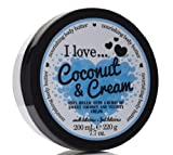 I Love... Coconut & Cream Nourishing Body Butter 200ml