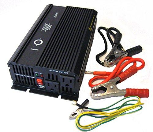 Halo Automotive Ha-I1000S Power Inverter, 1000-Watt