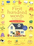 First Hundred Words in German (First hundred words sticker books) (Usborne First Hundred Words Sticker Books)