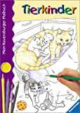 Mein Ravensburger Malbuch: Tierkinder