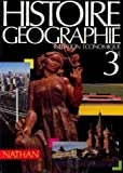 img - for Histoire, geographie, initiation economique, 3e book / textbook / text book