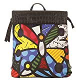 Vero Couture Printed Canvas Backpack