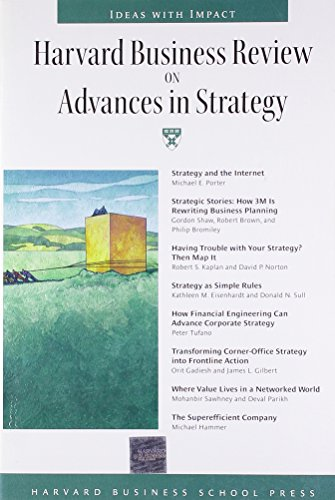 Harvard Business Review on Advances in Strategy (