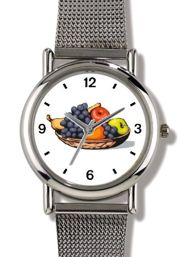 Still life of Fruit - WATCHBUDDY® ELITE Chrome-Plated