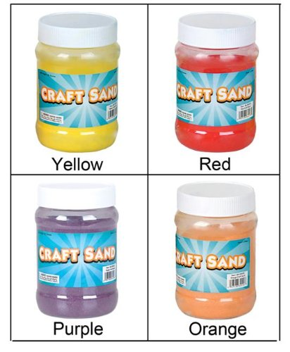 Craft Sand (Red) Party Accessory