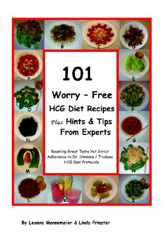 101 Worry – Free HCG Diet Recipes Plus Hints & Tips From Experts: Great Taste Yet  Strict Adherance to Dr. Simeons / Trudeau HCG Protocol