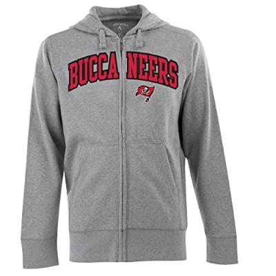NFL Men's Tampa Bay Buccaneers Split Applique Full Zip Hood