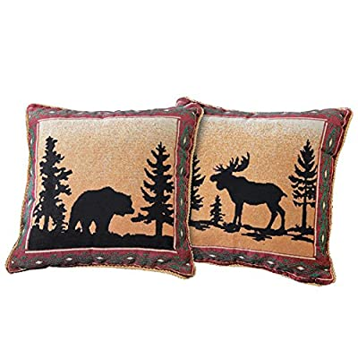 Reversible Northwoods Pillow Cover