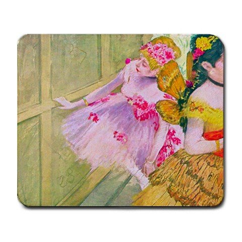 Dancers Behind a Backdrop By Edgar Degas Mouse Pad