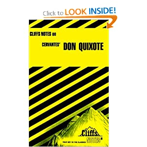 Don Quixote (Cliffs Notes) Marianne Sturman