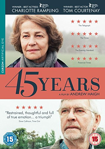 45 Years (2015) ( Forty Five Years ) [ NON-USA FORMAT, PAL, Reg.2 Import - United Kingdom ]