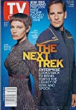 Tv Guide Aug 25-31 2001 Scott Bakula and Jolene Blalock of Star Trek