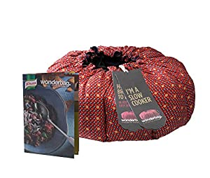 Wonderbag Non-Electric Portable Slow Cooker with Recipe
