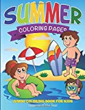 Summer Coloring Pages: Jumbo Coloring Book For Kids - Seasons Of The Year