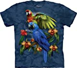 Tropical Friends Macaws Adults T-Shirt