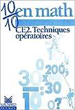 echange, troc Loumardin, Séménadisse, Clecy, Charles, Buonomo, Blandino - Cahier CE2 n° 3 : techniques opératoires