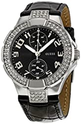 GUESS Analog Black Dial Womens Watch - W11607L2