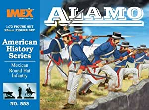 Mexican Round Hat Infantry 1-72 Imex