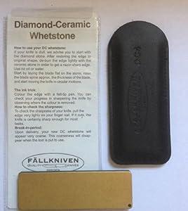 Fallkniven Knives DC4 Diamond Ceramic Whetstone Knife Sharpener