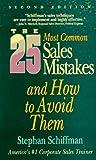 25 Sales Mistakes